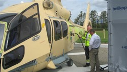 EC155 at Holsted11