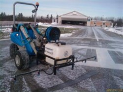 deicing apron