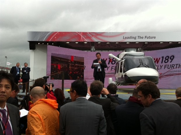 AW139 Le Bourget 2011